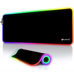 Rgb Gaming Mouse Pad Led Large Extended Mouse Mat With 12 Lighting Modes