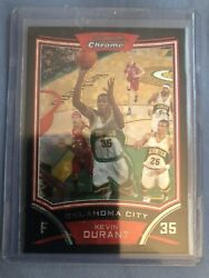 Kevin Durant 2008 Bowman Chrome Xfractor Kevin Durant 69 2nd Year 52/299 Hot