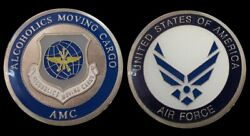 Us Air Force Air Mobility Command Amc Funny Challenge Coin Military Coins New