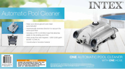 Intex 28001e Above Ground Swimming Pool Automatic Vacuum Cleaner