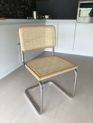 Chaise Cesca Chair Marcel Breuer 100 Made In Italy Natural Hetre Natural
