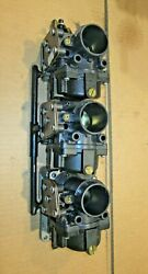 Omc Brp Johnson Evinrude Oem 150 Hp V6 Complete Starboard Carburetor Carb Set