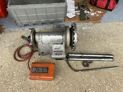 Ridgid 300 Power Pipe Threading Machine With Lots Of Accessories