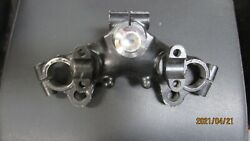 Yamaha Rd400f Rd 400 Rd400 Original Stamped 2v0 Upper Triple Tree Crown And Nut
