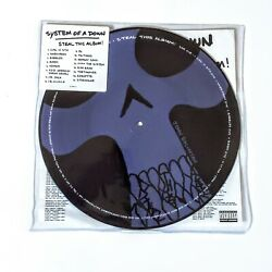 System Of A Down Steal This Album Lp Vinyl Records Rare Picture Disc