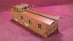 Lionel Pre War Scale 717 Nyc Tuscan Caboose Shell 19400