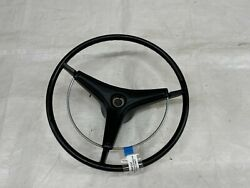 1970 Mopar B Body Steering Wheel Horn Pad With Ring And New Roadrunner Cap Pad