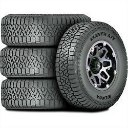 4 New Kenda Klever A/t2 Lt 285/75r16 Load E 10 Ply At All Terrain Tires