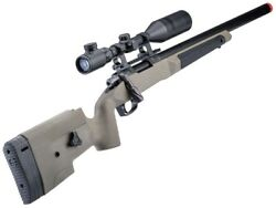 Maple Leaf Mlc 338 Bolt Action Airsoft Sniper Rifle
