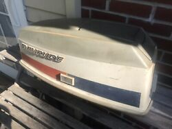 Evinrude 50 Hp 2 Cyl Outboard Motor Cover Cowling 1970-1973