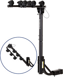 Kac S3 1.25 And 2 Hitch Receiver 3-bike Capacity Hanging Bicycle Carrier - - -