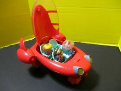 Disney Little Einsteins Pat Pat The Rocket With Lights And Sound 3 Figures 2006