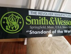 Smith And Wesson Sign Dealer Display Gunsandnbsp