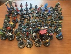 Large Heroclix Lot Chases/super Rares/prizes