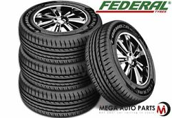 4 New Federal Formoza Az01 205/55r16 91w All Season Traction Performance Tires