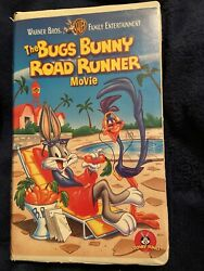 The Bugs Bunny Road Runner Movie Vhs 1997 Clam Shell Tested Euc