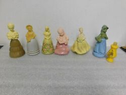 Set Of 7 Vintage Avon Cologne/perfumes All Full Collectible Decanters Bottles