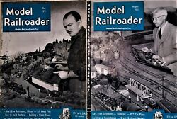 Model Railroader Magazine, Twelve Issues From 1948 Trough 1951