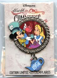 Dlrp - Pin Trading Event - It All Started With A Mouse - Alice In Wonderland Pin