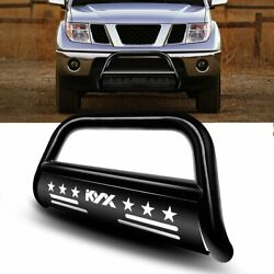 Bull Bar For 2005-2019 Nissan Frontier Bumper Replacement Steel Brush Protector