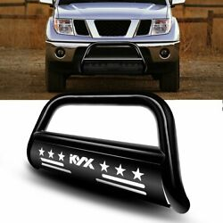 Replacement Steel Bull Bar Brush Protector For 2005-2019 Nissan Frontier Bumper