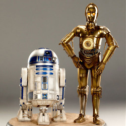 Star Wars - C-3po And R2-d2 Prime Format Figurine 1/4 Statue Sideshow