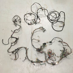 Oem 1975-1980 Triumph Spitfire Main And Rear Circuit Wiring Harness Kit Vintage