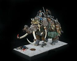 Jon Snow On Captured War Mammoth Painted 32mm Scale A Song Of Ice And Fire