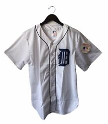 Vintage Detroit Tigers Rawlings Baseball Jersey Size Large Deadstock Nwt 80s Nos
