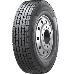 4 New Hankook Smart Flex Dl12 285/75r24.5 Load G 14 Ply Drive Commercial Tires
