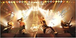 Iron Maiden World Piece Tour, Fully Signed Bruce Dickinson Dave Murray Autograph