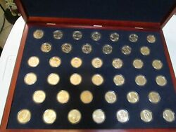 Complete Bu Uncirculated Presidential Dollar Set Us 40 Coins Total With Box