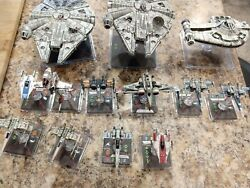 Star Wars X-wing Miniatures Collection Used. Check Photos To See All