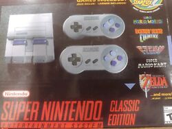 Super Nintendo Mini Entertainment System/ Super Nes Classic Edition 21 Games