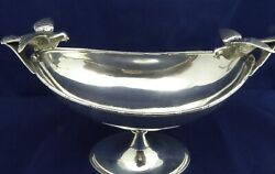 Solid Silver Sweet/nut Dish 1907