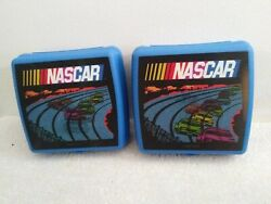 Tupperware Brand Nascar Holographic Race Cars Sandwich Snack Container Set Of 2
