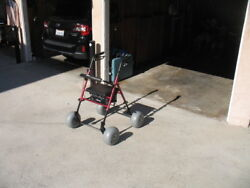 Brand New Drive Walker With Beach Wheel Adapter Kit. Great For Sand Grass Etc.