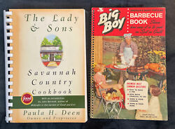Paula Deen Lady And Sons Savannah Country Cookbook And Big Boy Barbecue Book Eighth