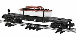 Lionel S Scale Jc Flatcar With Boat Load | 6-48561