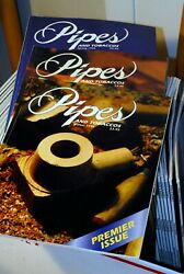 Lot Of 92 Pipes And Tobacco Magazines - Including Dunhill Article Vol.10 1
