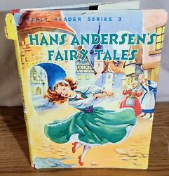 Vintage Book Hans Andersons Fairy Tales Early Reader Series 3 Euc Jh
