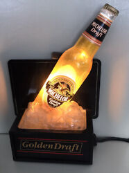 Michelob Golden Draft Pure Cold Light Up Beer Sign