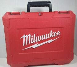 Case Only For Milwaukee 2602-22 18v Cordless 1/2 Hammer Drill Driver Kit Empty