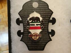 Hard Rock Cafe Pin Hollywood Core Headstock Flag Series