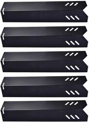 5 Pack 15andldquo 18 Ga Porcelain Steel Grill Heat Plate Shield Replacement Parts For