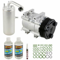 For Ford F-250 And F-350 Super Duty Oem Ac Compressor W/ A/c Repair Kit Tcp