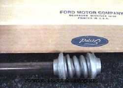 56 Ford Nos Steering Shaft With Worm Gear Fairlane Victoria Sunliner