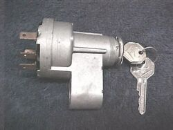 Nos Delco Ignition Switch And Lock And V Crest Keys 1966 Gm Cadillac Caddy 1116671