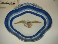 Mottahedeh Dept. Of State Diplomatic Rooms American Eagle Shell Dish