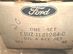 Rare 1973 - 1982 Ford Pickup Truck And 78 79 Bronco Door Hood Tire Lock Set And Keys